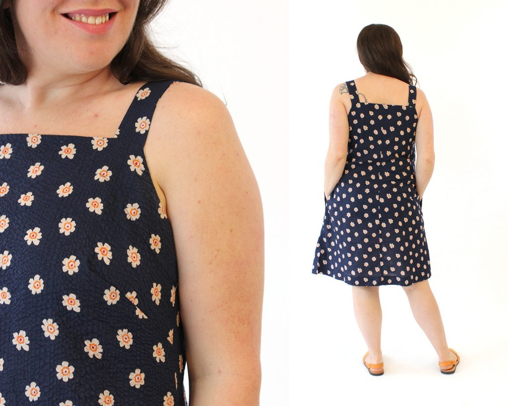 The Reynolds Top and Dress Sewing Pattern from Helen's Closet Patterns - View B