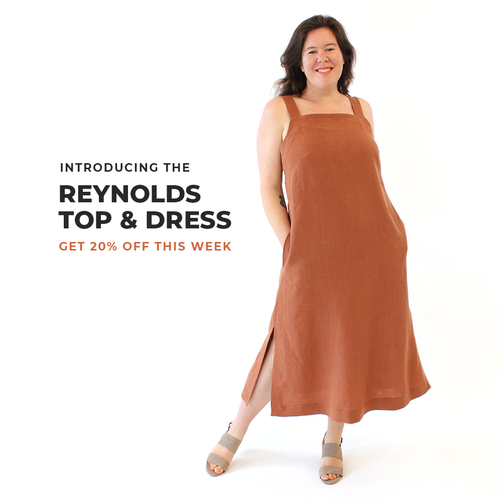 Introducing the Reynolds Top and Dress Sewing Pattern from Helen's Closet Patterns