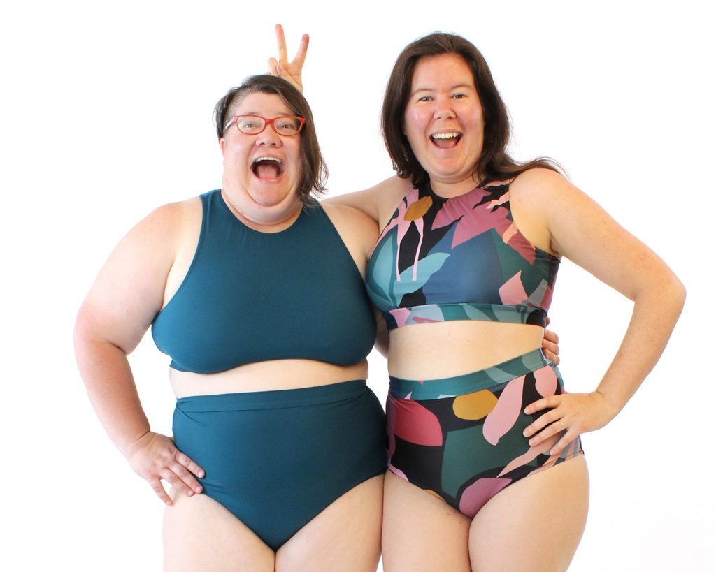 The Sandpiper Swimsuit from Helen's Closet Patterns