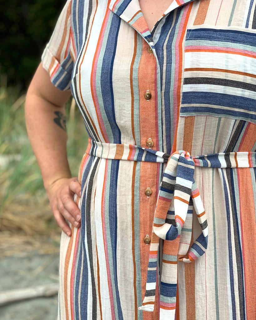 Gilbert Top / Reynolds Dress Hack from Helen's Closet