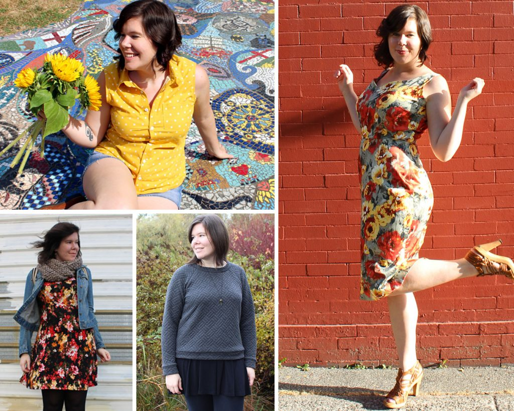 Some of Helen's earliest makes on the blog.