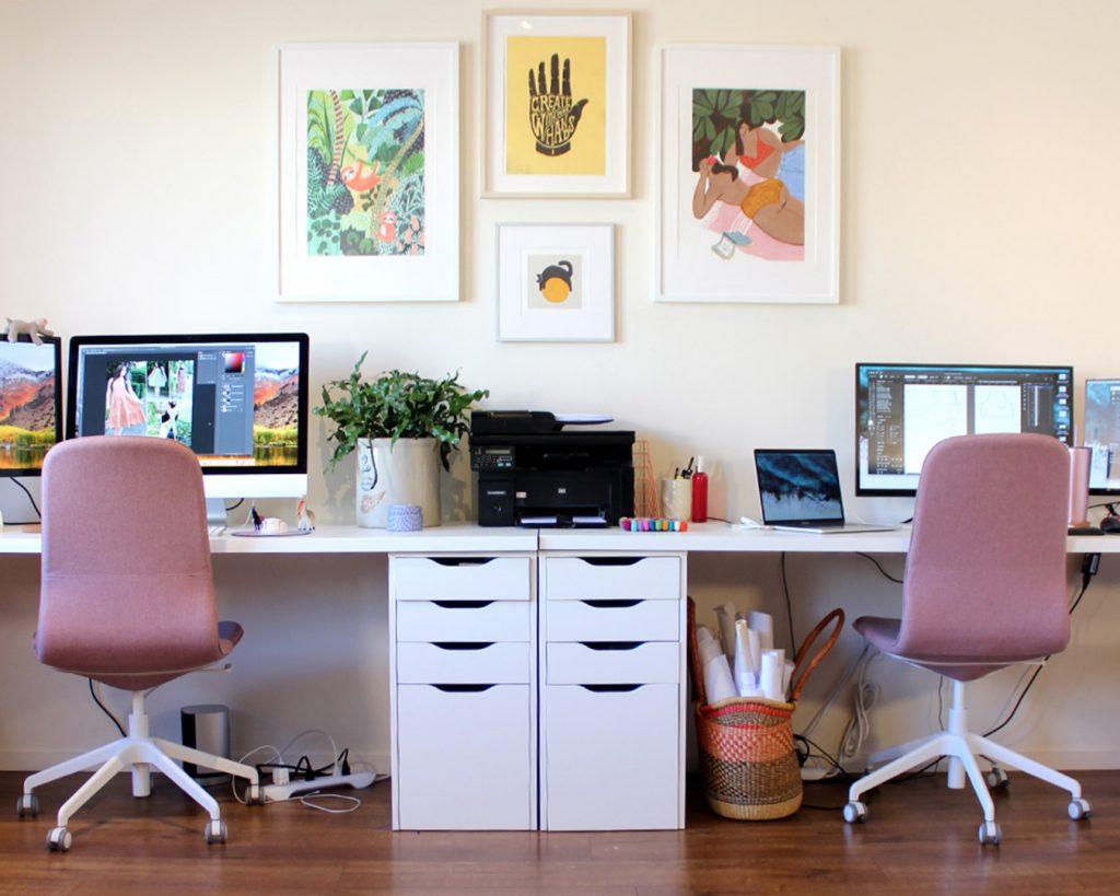 The first Helen's Closet Patterns office!