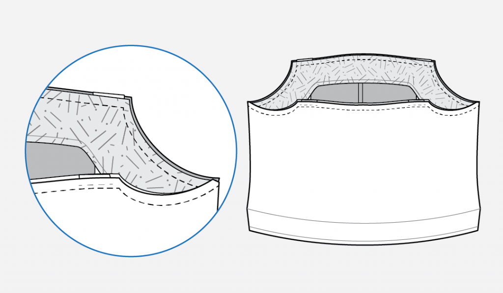 How to Add Ruffles to the Reynolds Top from Helen's Closet
