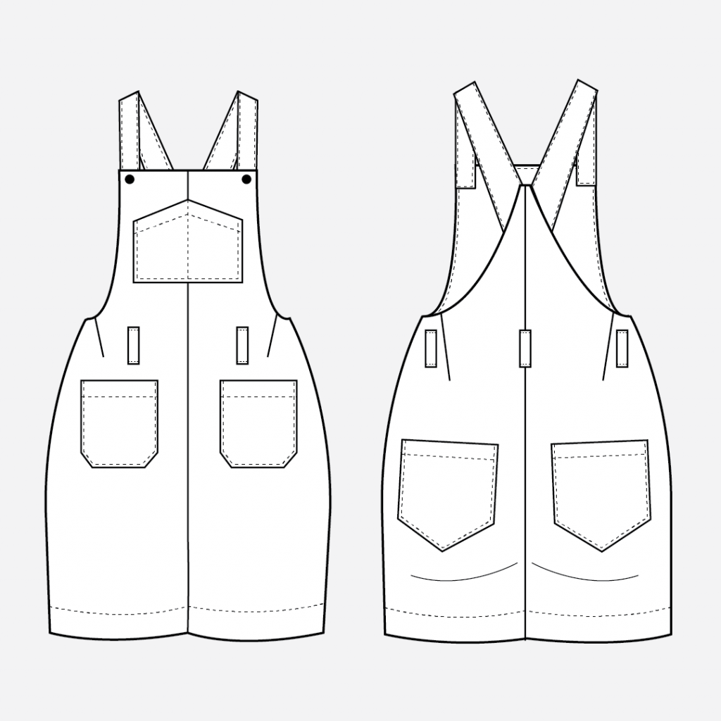 How to Add Belt Loops to the Yanta Overalls