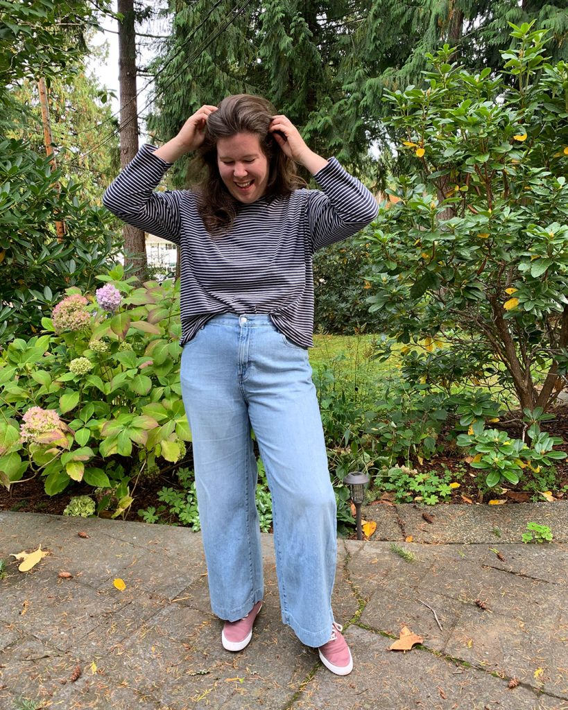 Long Sleeve Jackson Tee and Pullover Hack from Helen's Closet